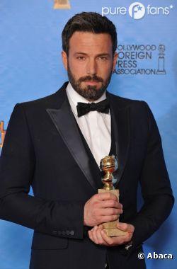 Ben Affleck, Meilleur film et Meilleur réalisateur pour Argo aux Golden Globes 2013