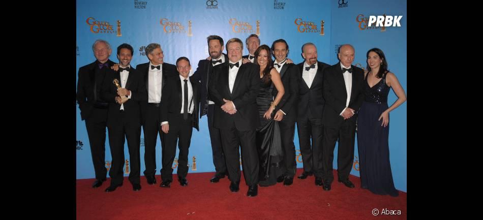 Le casting d'Argo s'en sort bien aux Golden Globes 2013