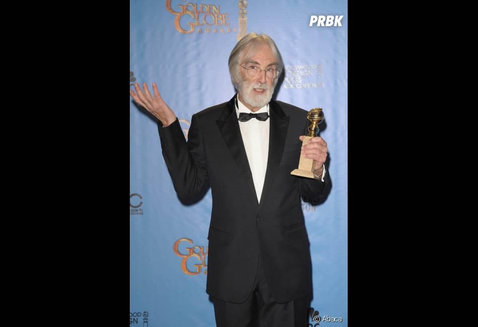 Michael Haneke repart avec le prix de Meilleur film étrange pour Amour aux Golden Globes 2013