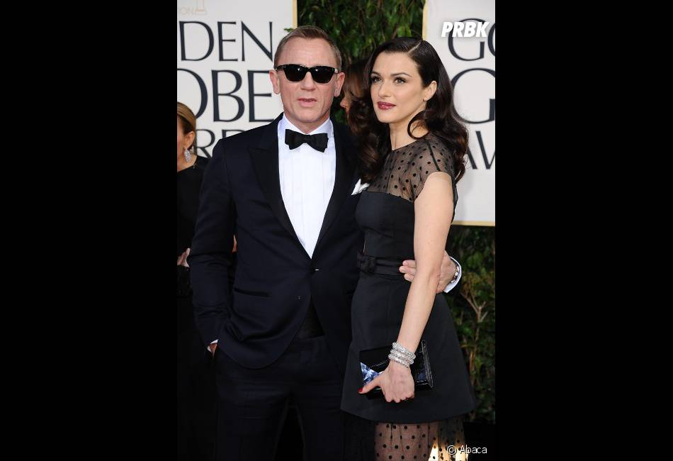 Daniel Craig en mode James Bones aux Golden Globes 2013
