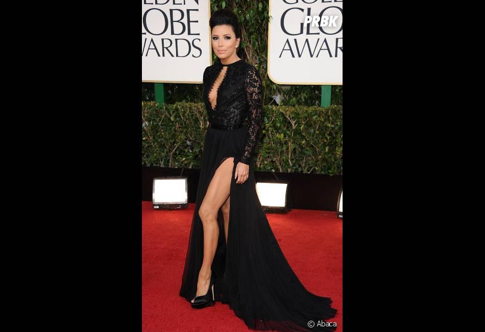 Eva Longoria décolletée aux Golden Globes 2013