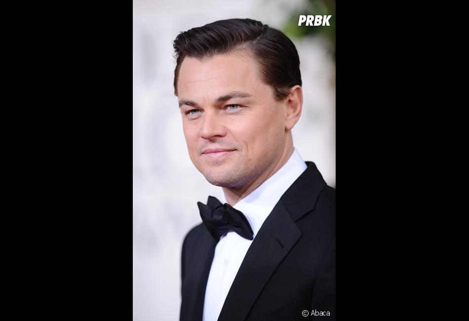 Leonardo DiCaprio, très classe aux Golden Globes 2013