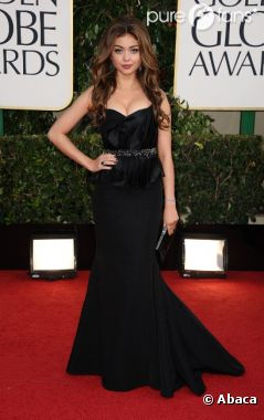 Sarah Hyland hot aux Golden Globes 2013