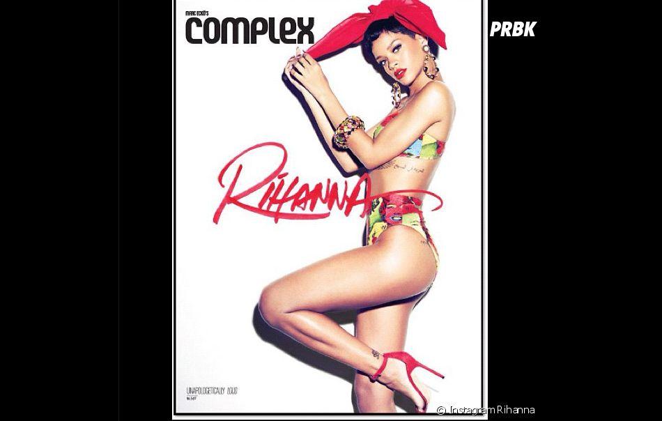 Rihanna dévoile ses courbes de rêve !
