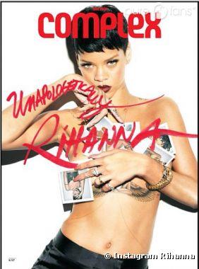 Rihanna a posé pour sept couvertures de Complex !
