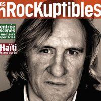 """Gérard Depardieu """"tué"""" par Les Inrocks d'Audrey Pulvar, génie ou connerie ?"""