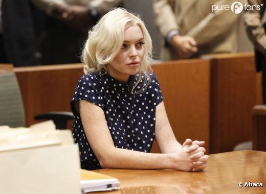 Lindsay Lohan bientôt de retour en prison ?