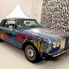 Eric Cantona : l'horrible Rolls Royce de l'ex-footballeur vendue à 125 000 euros aux enchères !