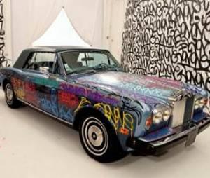 La voiture d'Eric Cantona vendue aux enchères
