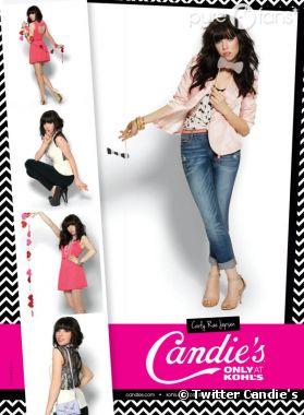 Carly Rae Jepsen est la nouvelle égérie Candie's