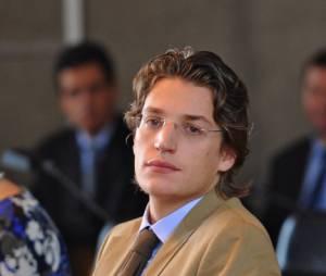 Jean Sarkozy, chargé de TD à l'Université de Créteil.