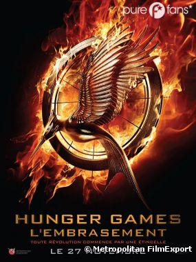 Affiche française exclu d'Hunger Games 2