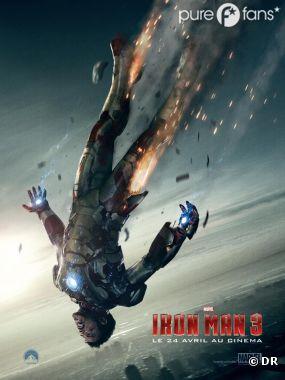 Nouvelle affiche pour Iron Man 3