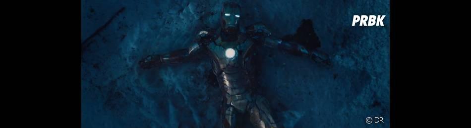 Iron Man en mauvais état