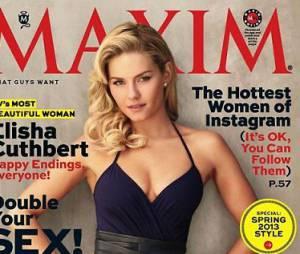 La couverture de MAXIM avec Elisha Cuthbert
