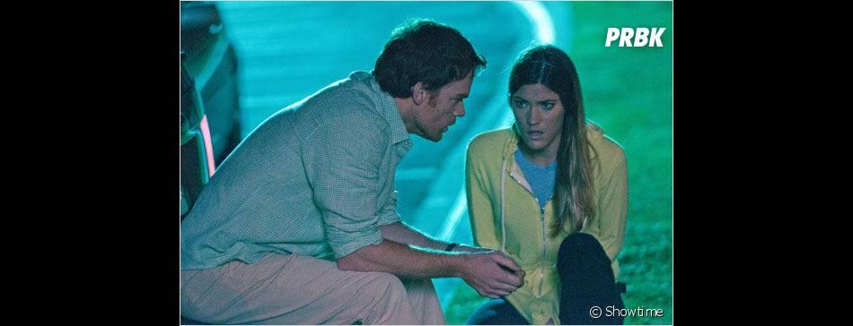 Dexter et Debra ont des choses à se dire