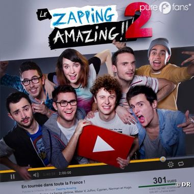 Le Zapping Amazing 2 a enflammé twitter