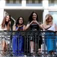 Selena Gomez, Vanessa Hudgens, Rachel Korine et Ashley Benson ont fait sensation... sur un balcon