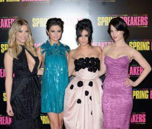 Le cast de Spring Breakers, sexy sur le tapis rouge du Grand Rex
