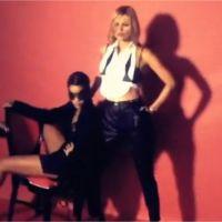Rihanna et Kate Moss : à moitié nues dans la vidéo de leur photoshoot sexy