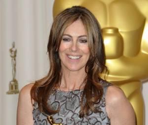 Kathryn Bigelow et son Oscar pour le film Démineurs