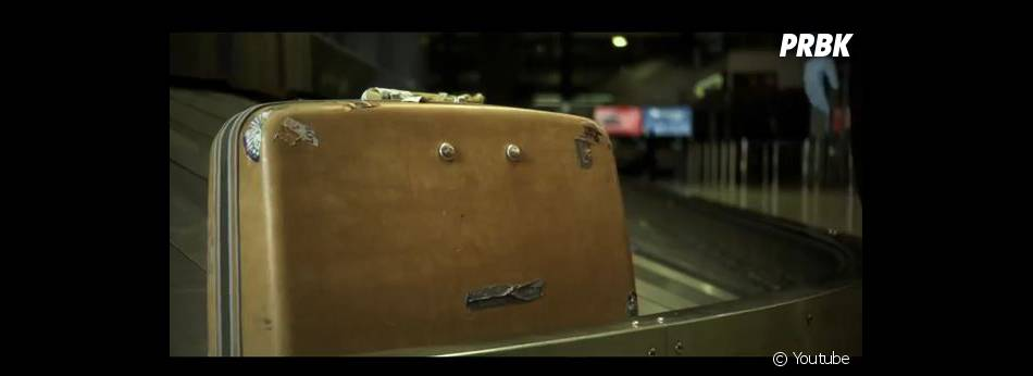 La valise du clip Why Am I The One du groupe Fun.