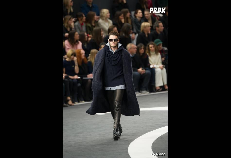 Baptiste Giabiconi, un mannequin au top pendant la Fashion Week 2013