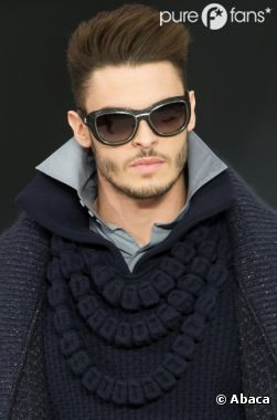Baptiste Giabiconi est redevenu mannequin pour le défilé Chanel de mars 2013