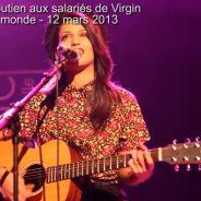 Tal, Leslie, Mickaël Miro... : concert et mots de soutien pour les salariés de Virgin