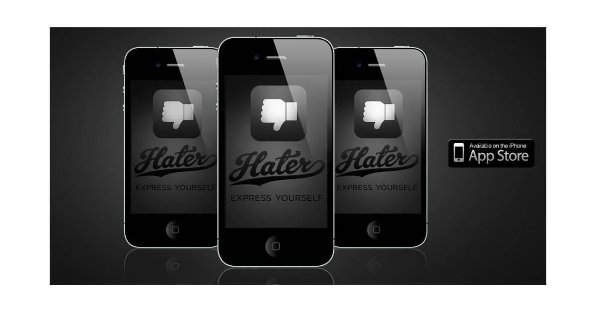 hater sur iphone l 39 application pour tout d tester purebreak. Black Bedroom Furniture Sets. Home Design Ideas