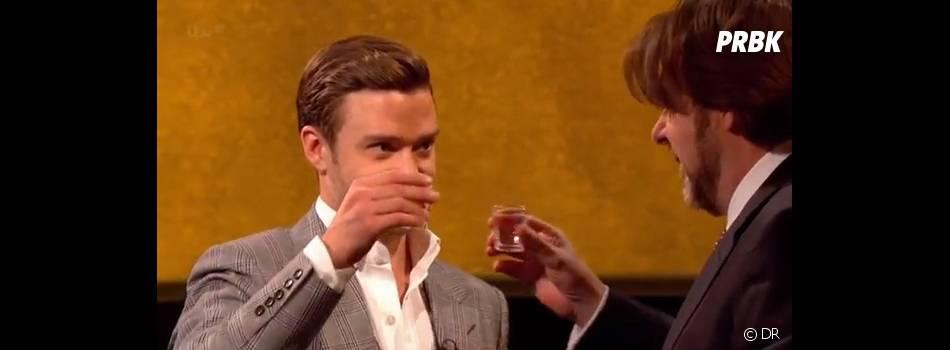 Justin Timberlake a crée sa propre marque de tequila et compte bien la tester