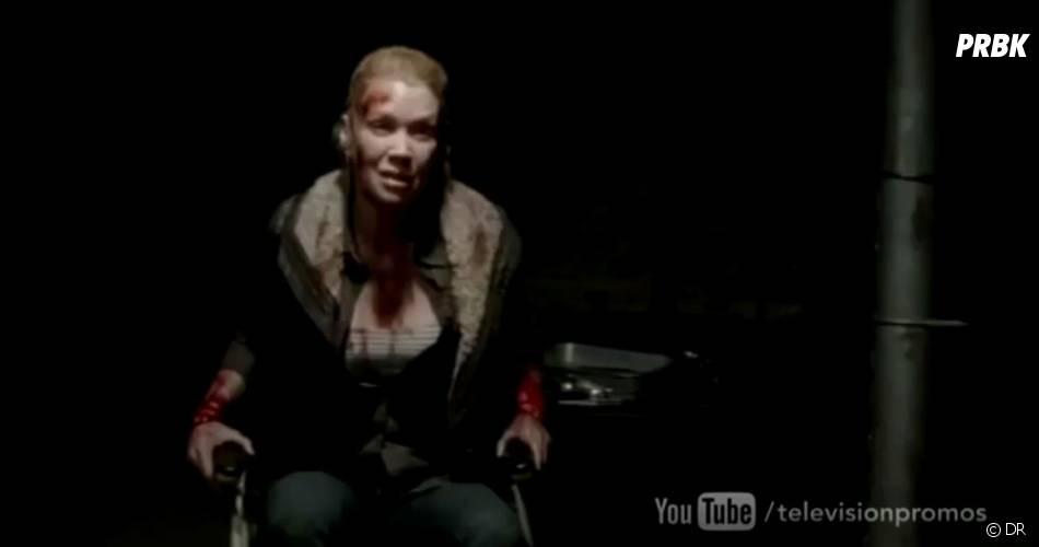 Andréa va souffrir dans The Walking Dead