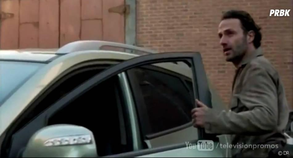 Rick va avoir des problèmes dans The Walking Dead