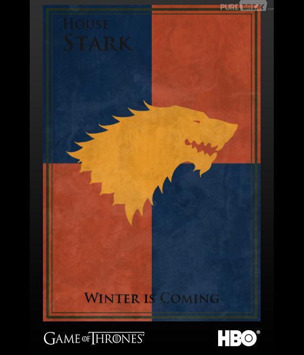 Crée ton propre blason comme les Stark.