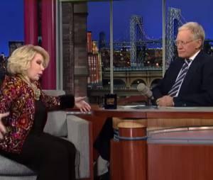 Joan Rivers s'est moquée d'Adele durant l'émission de David Letterman