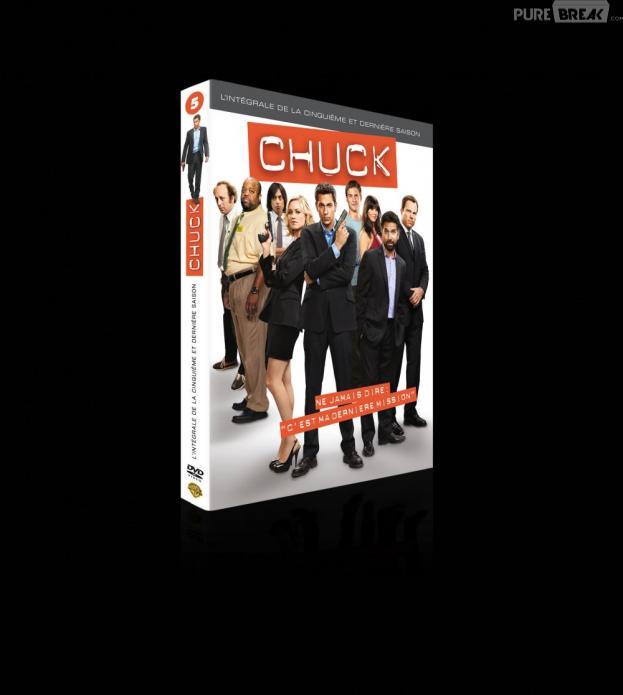 La saison 5 de Chuck sort en DVD