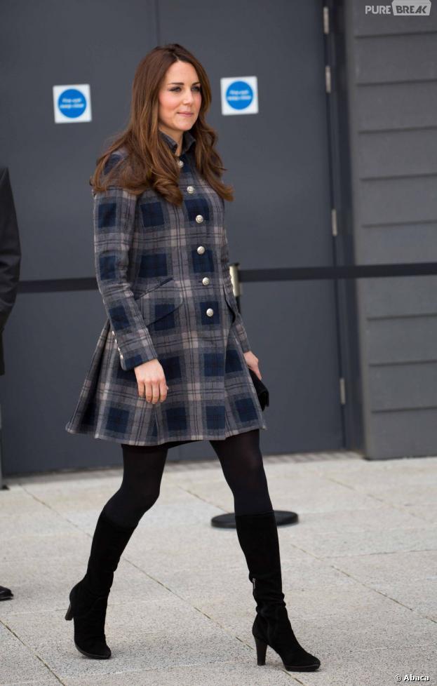 Pas la moindre trace de ventre rond pour Kate Middleton