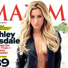 Ashley Tisdale : topless en Une de Maxim et accro aux bad boys