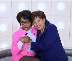 Audrey Pulvar et Roselyne Bachelot prennent la pose pour Boutin