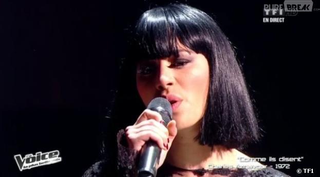 Dièse a interprété la chanson Comme ils disent de Charles Aznavour dans The Voice 2.