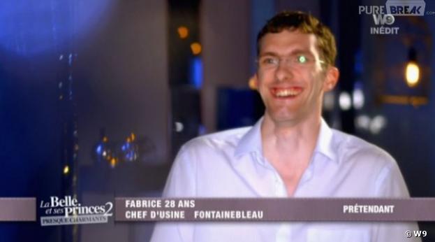 Fabrice est un homme de principes mais n'arrive pas à trouver la femme de sa vie dans La Belle et ses Princes 2.