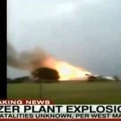 Texas : explosion meurtrière dans une usine d'engrais