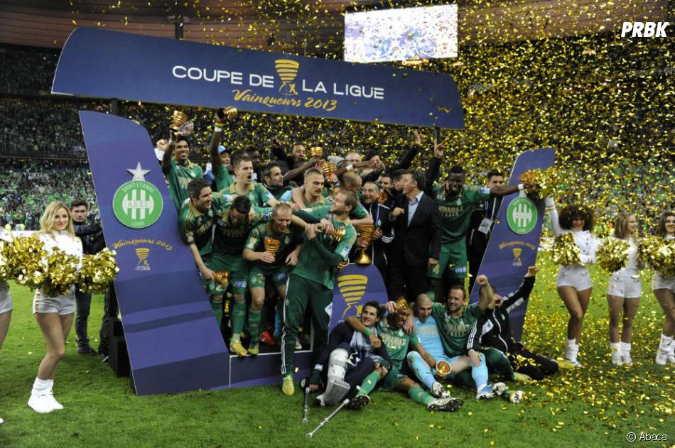 Saint-Etienne a gagné le coupe de la Ligue 2013 face à Rennes
