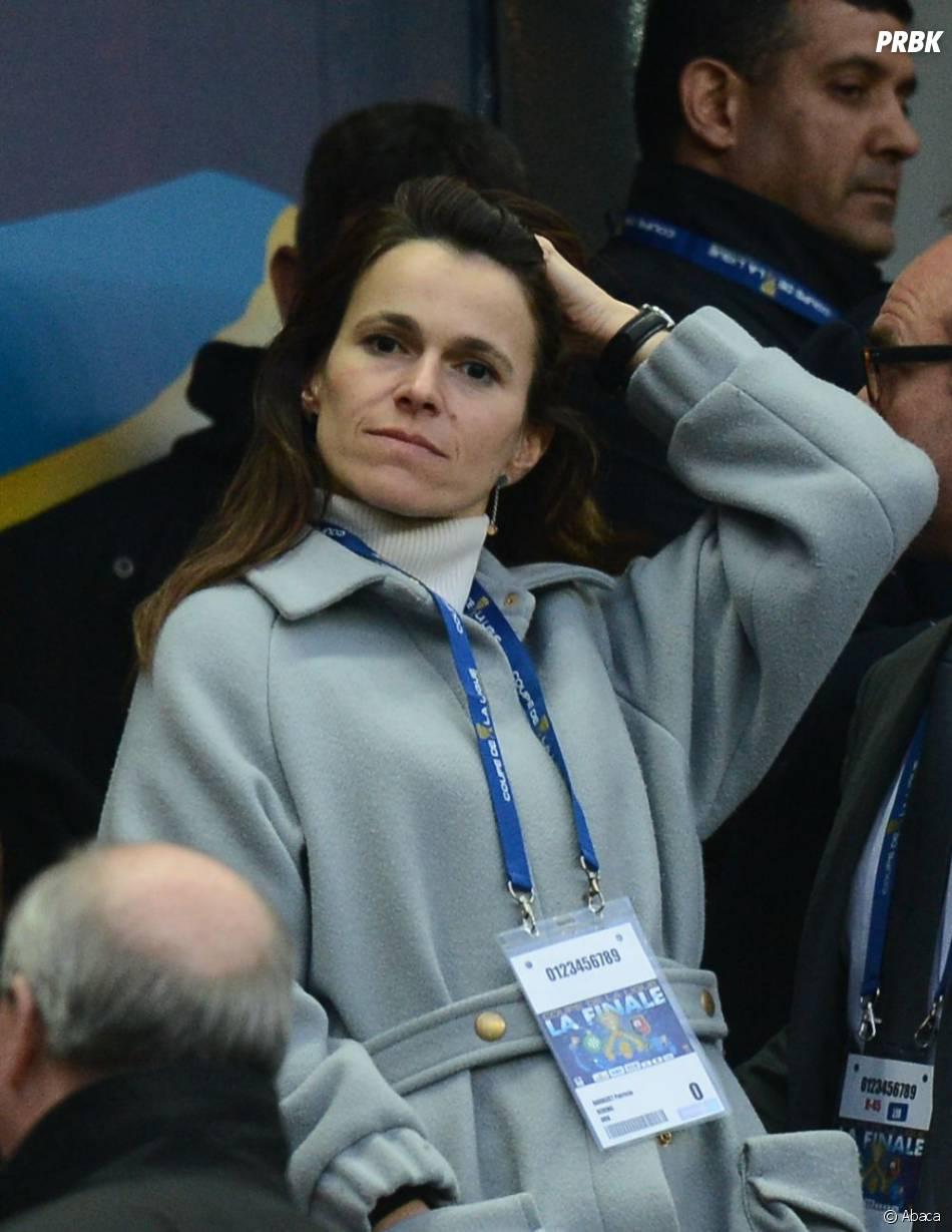 Aurélie Filippetti a elle aussi assisté à la finale de la coupe de la Ligue 2013
