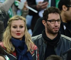 Manu Levy de NRJ était aussi au rendez-vous, samedi 20 avril 2013 au Stade de France
