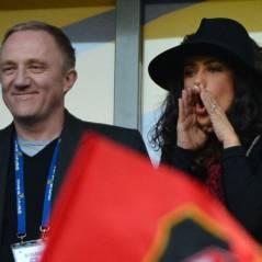 Finale Coupe de la Ligue 2013 : Salma Hayek, supportrice au taquet mais déçue