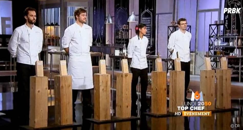 Naoëlle, Florent et Jean-Philippe sont les finalistes de Top Chef 2013