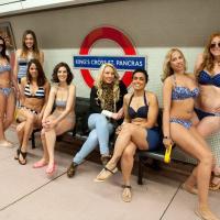 Nivea : toutes en bikini dans le métro à Londres pour oublier les complexes