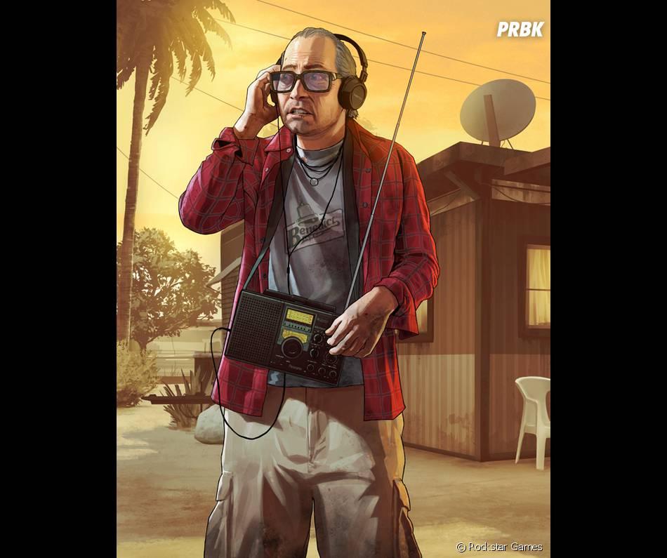 GTA 5 : Nervous Ron, l'un des personnages secondaires