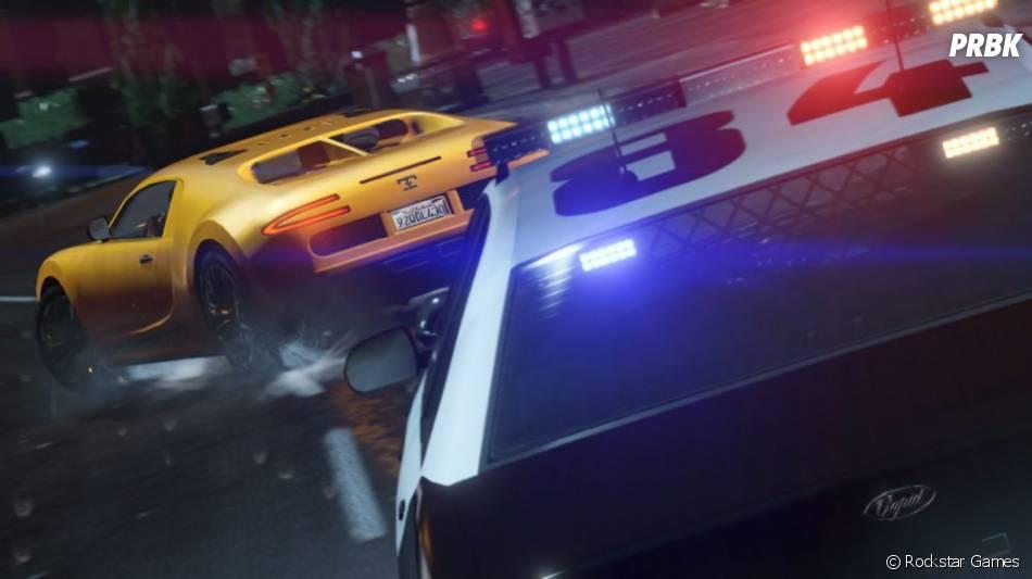 GTA 5 : une poursuite à Los Santos
